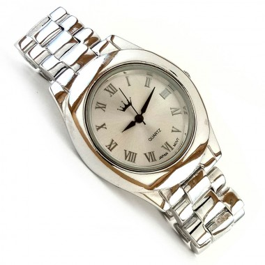 Classic 925 Sterling Silver Men's Jewelry Wrist Watch