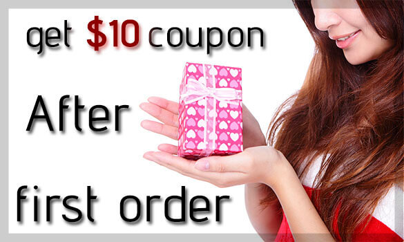 Get $10 coupon after first order