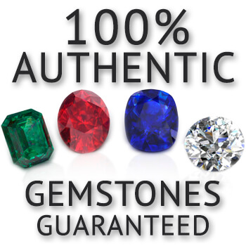 our gemstones are natural authentic guaranteed