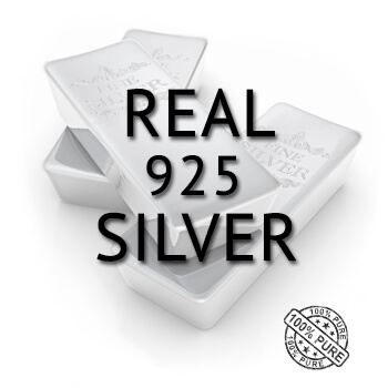 real 925 sterling silver alloy